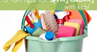 5 Fun tips for spring cleaning with kids