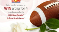Cheer in the New Year with the DOLE Rose Parade float and Rose Bowl!