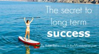 The secret to long term success by @RobynBenincasa