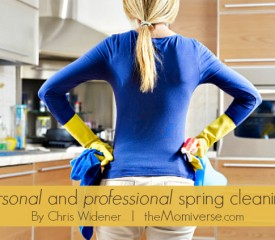 Personal and professional spring cleaning