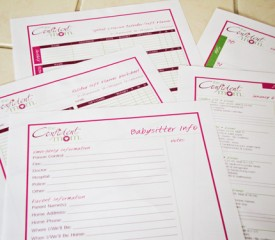 Get organized in 2013 – Weekly Household Planner #Giveaway!
