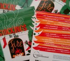 Christmas music #giveaway: Stockings by the Fire