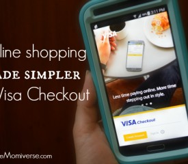 Online shopping made simpler by Visa Checkout