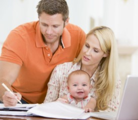 Nine tips to manage your money as you start a family