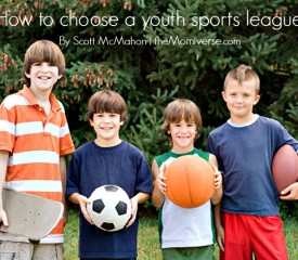 How to choose a youth sports league
