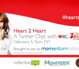 Twitter Party: February is heart health month