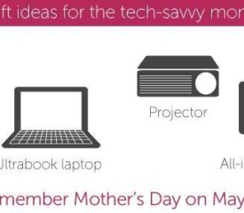 Gift ideas for the tech-savvy Mom {Infographic}