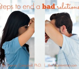 7 Steps to end a bad relationship