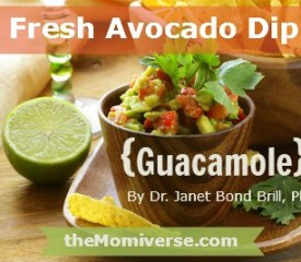 Fresh Avocado Dip {Guacamole}