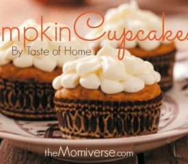 Pumpkin cupcakes {Taste of Home}