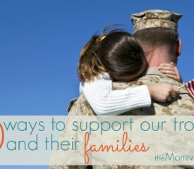 10 Ways to support our troops and their families