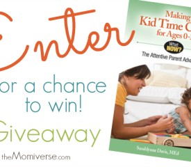 Book #Giveaway: Making Kid Time Count for Ages 0-3