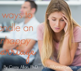3 Ways to handle an unhappy marriage