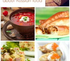 Using the 2014 Sochi Olympics to learn about Russian food