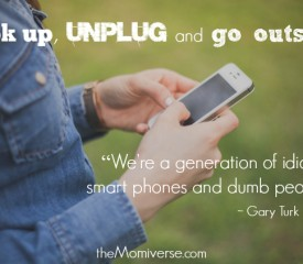 Digital detox: Look up, unplug and go outside