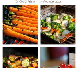 Summertime grilled vegetables