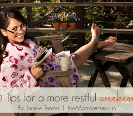 5 Tips for a more restful weekend