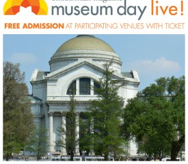 Free admission to participating museums on #MuseumDayLive!