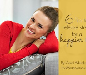 6 Tips to release stress for a happier life