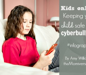 Kids online: Keep your child safe from cyberbullying {Infographic}