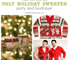 How to host an ugly holiday sweater party and fundraiser