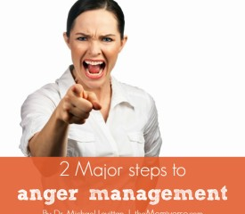 2 Major steps to anger management
