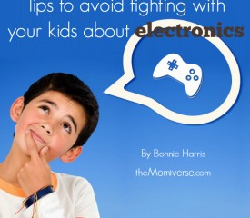 Tips to avoid fighting with your kids about electronics