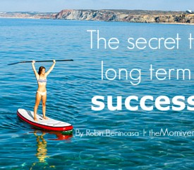 The secret to long term success