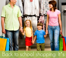 "Back to school shopping: It's OK to say ""No"" to your kids"