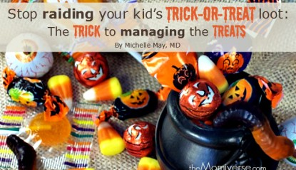 Stop raiding your kid's trick-or-treat loot: The trick to managing the treats