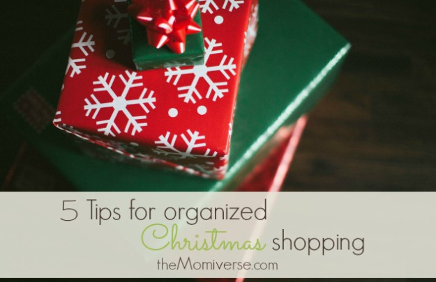 5 Tips for organized Christmas shopping