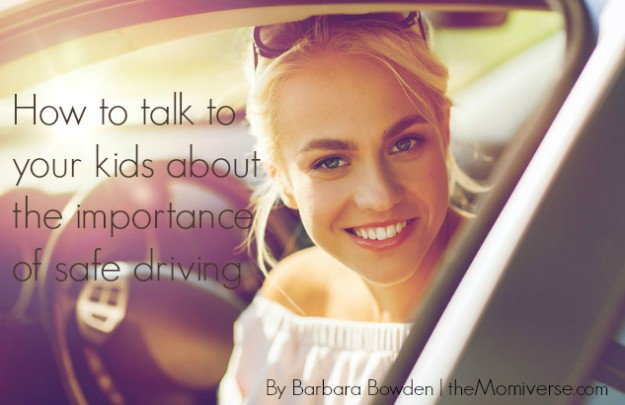 How to talk to your kids about the importance of safe driving