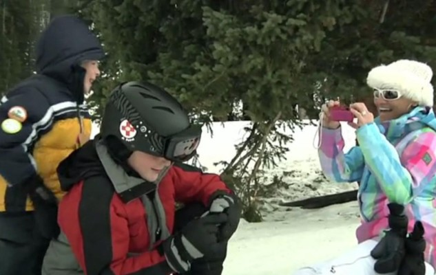 Skiing in family-friendly Beaver Creek, CO