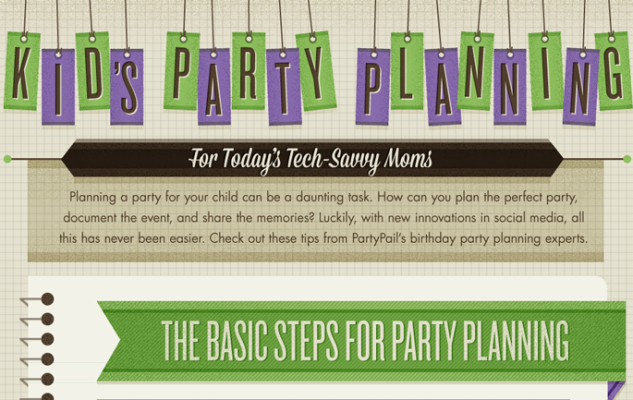 Planning a party – The tech savvy way {Infographic}