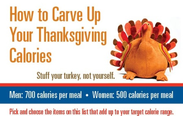 Thanksgiving calories: Stuff your turkey, not yourself {Infographic}