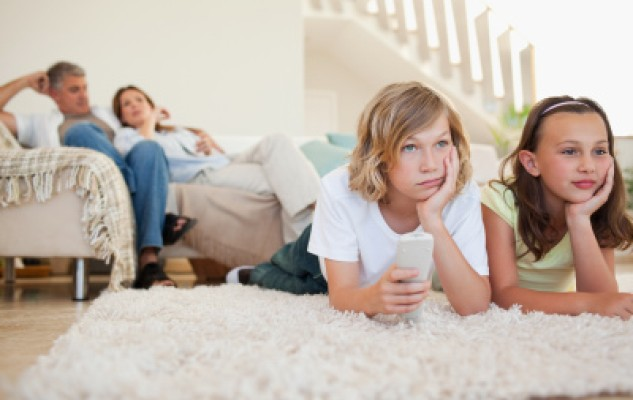 Limiting screen time for kids
