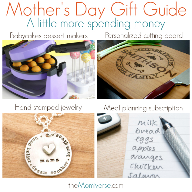 Mother's Day Gift Guide - A little more spending money | The Momiverse