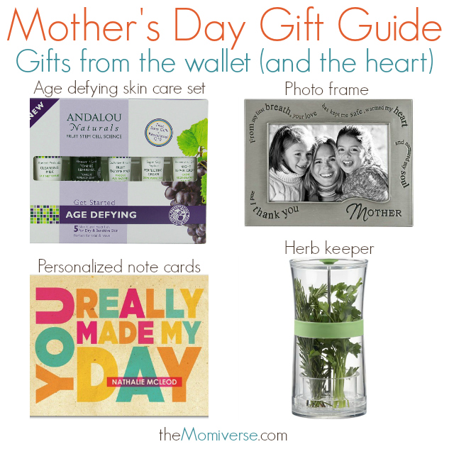 Mother's Day Gift Guide - Gifts from the heart (and the wallet) | The Momiverse