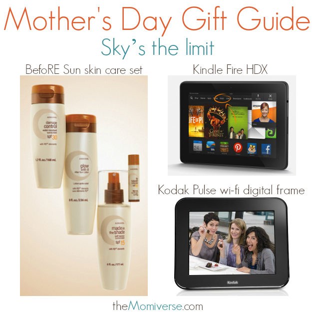 Mother's Day Gift Guide - Sky's the limit | The Momiverse