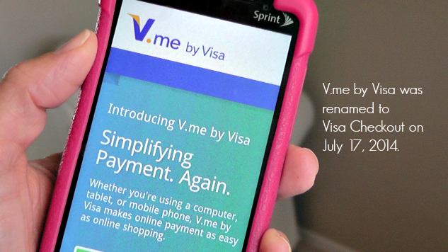 Online shopping made simpler by Visa Checkout (formerly V.me) | The Momiverse | Shopping with a smartphone