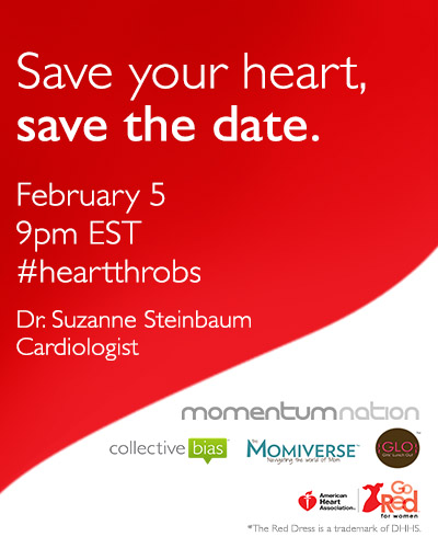 Heart Health Month - Go Red for Women | The Momiverse