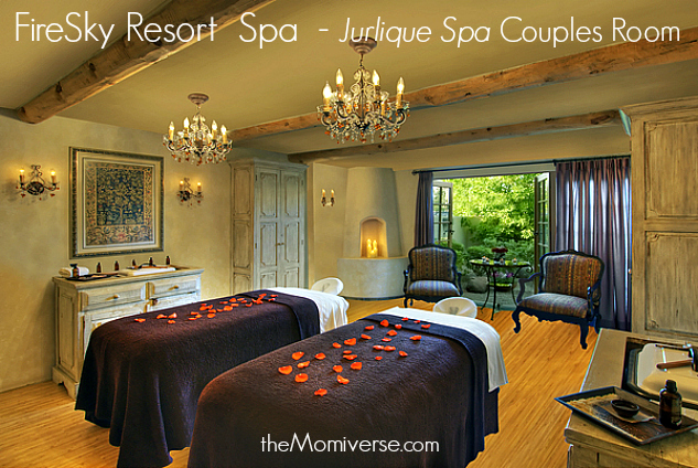 Scottsdale, AZ: Spas, spring training and sunshine | FireSky Resort  Spa - Jurlique Spa Couples Room | The Momiverse