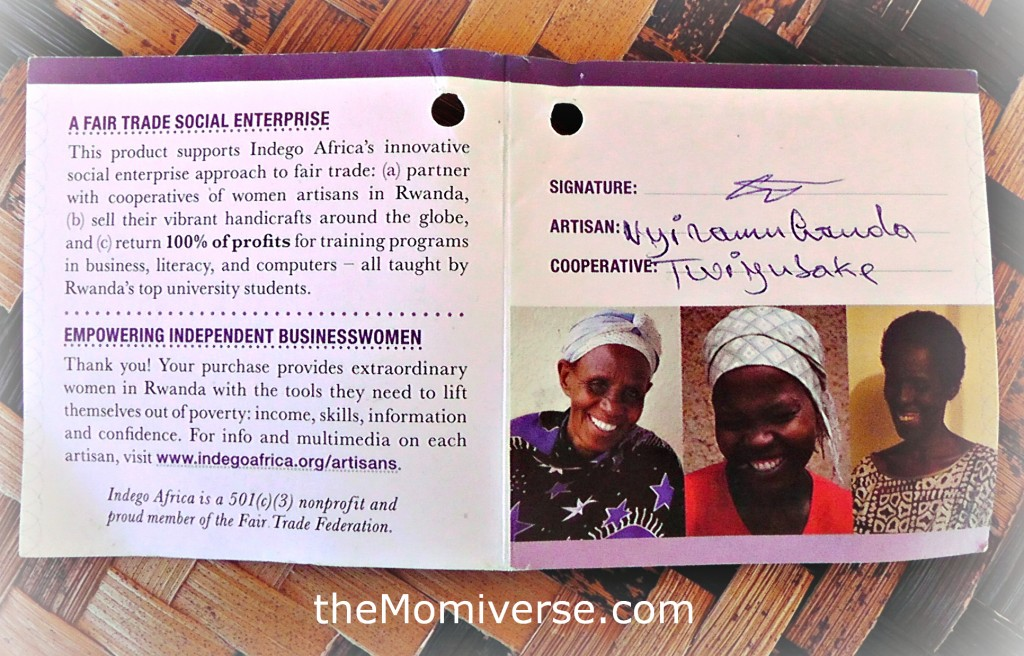 Indego Africa Product Tags | The Momiverse