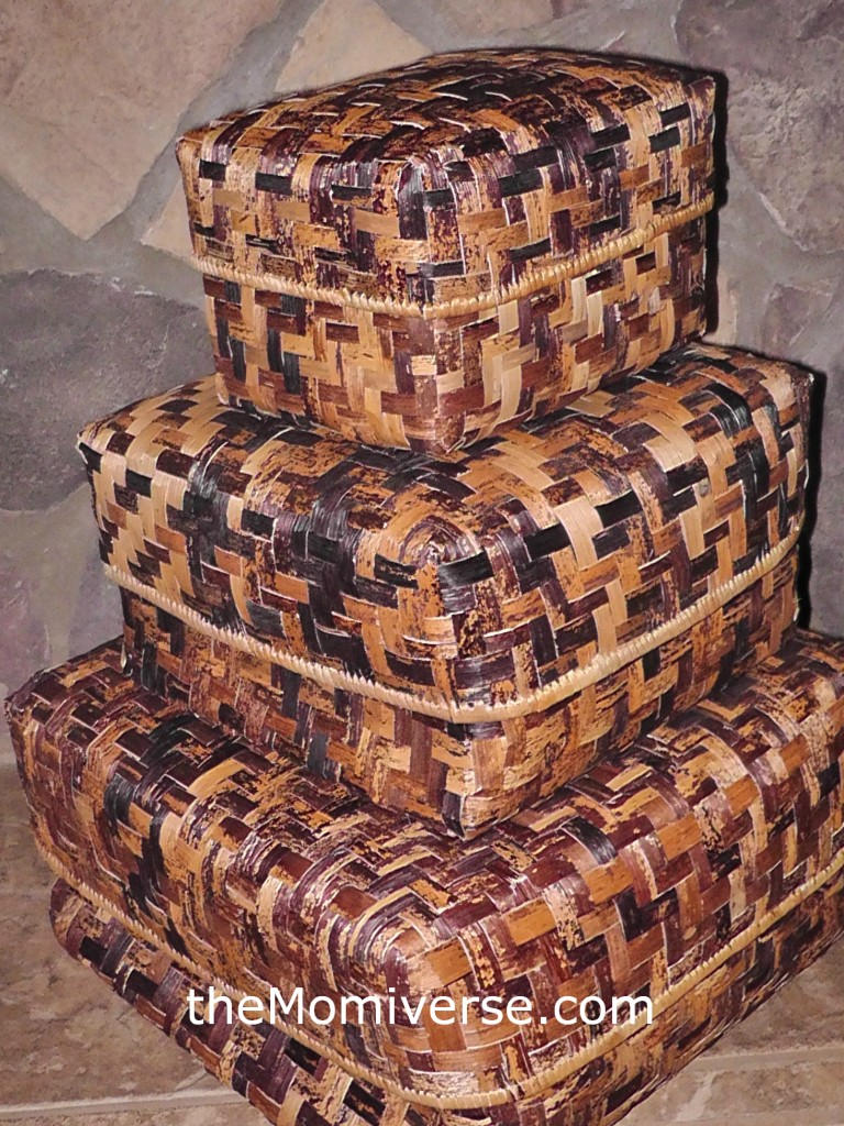 Indego Africa Woven Banana Boxes | The Momiverse