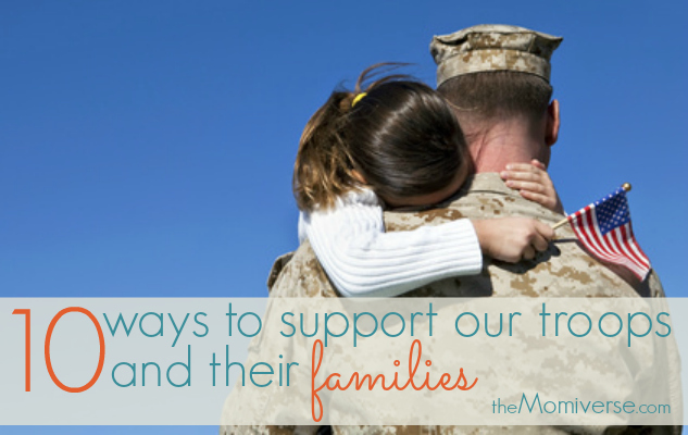 10 Ways to support our troops and their families | The Momiverse | Image via Flikr by SalFalko