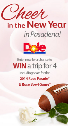 Cheer in the New Year with the DOLE Rose Parade float and Rose Bowl! | The Momiverse