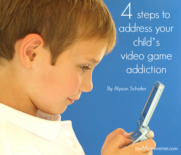 Four steps to address your child's video game addiction | The Momiverse | Article by Alyson Schafer
