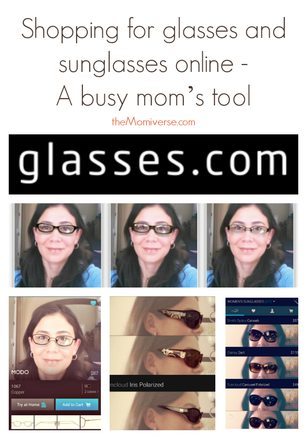 Shopping for glasses and sunglasses online – A busy mom's tool | The Momiverse | glasses.com