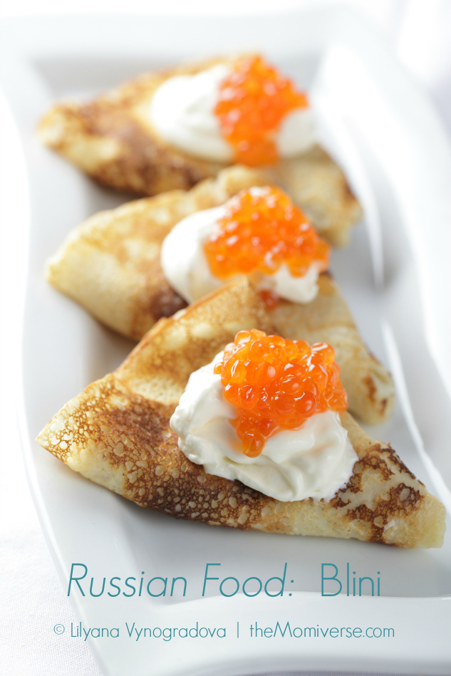 Russian Food: Blini | The Momiverse | Article by Cheryl Tallman | Photo by Lilyana Vynogradova