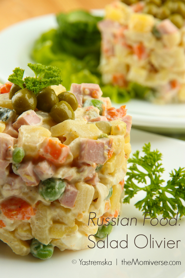 Russian Food - Salad Olivier | The Momiverse | Article by Cheryl Tallman | Photo by Yastremska